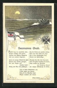 AK Eisernes Kreuz, Seemanns Grab