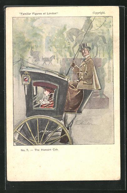 AK London, The Hansom Cab 0