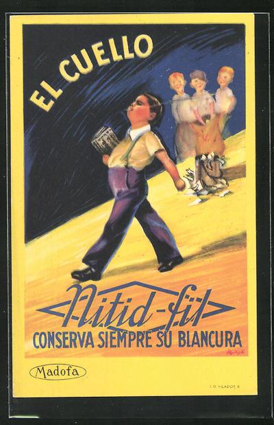 AK El Cuello, Nitid fit, Consrva Siempre su Blancura, Reklame 0