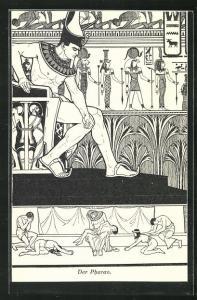 AK Der Pharao, Jugendstil
