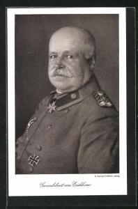 AK Porträt Generaloberts von Eichhorn