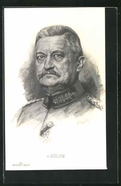 Künstler-AK General von Bülow 0
