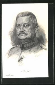 Künstler-AK General von Bülow