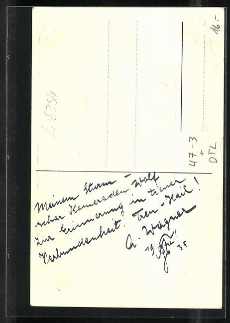 AK Metten, Absolvia 1935, Schmied am Amboss 1