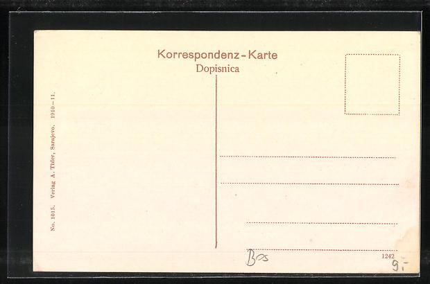 AK Sarajewo, Blick in die Franz-Josef-Strasse 1