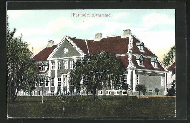 AK Hjortholm / Langeland, Ansicht vom Schloss 0