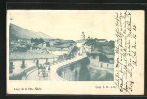 AK Quito, Tunel de la Paz