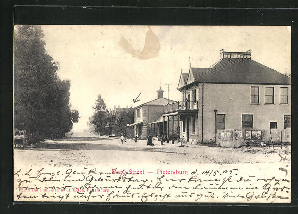 AK Pietersburg, View of Mare Street 0