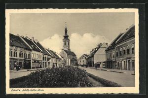 AK Leibnitz, Blick über den -Platz