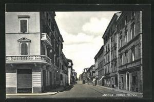 AK Ancona, Blick in den Corso Tripoli
