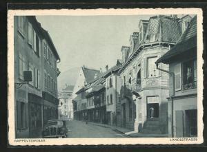 AK Rappoltsweiler, Blick in die Langestrasse
