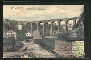 AK Luxembourg, Le viaduc de la Pétrusse