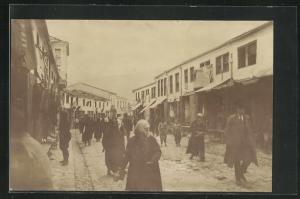 AK Ohrid, Strassenpartie im Ort