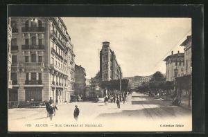 AK Alger, Rue Charras et Michelet