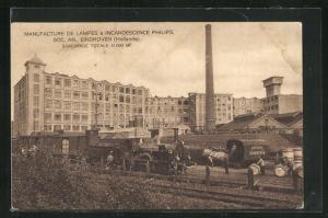 AK Eindhoven, Manufacture De Lampes á Incandescence Philips