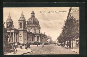 AK Warschau-Warszawa, Kosciot Sw. Aleksandra
