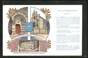 AK Digne, La Nouvelle Cathedrale