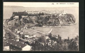 AK Monaco, Le Rocher, Panorama