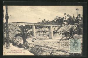 AK Elche, Puente de hierro y Molino Real