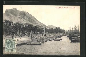 AK Alicante, Muelle de Costa
