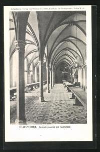 AK Marienburg / Malbork, Conventsremter im Hochschloss