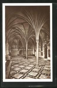 AK Marienburg / Malbork, Kapitelsaal im Hochschloss