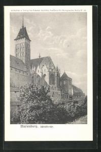 AK Marienburg / Malbork, Schlosskirche