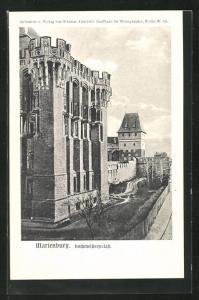 AK Marienburg / Malbork, Hochmeisterpalast