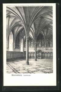 AK Marienburg / Malbork, Capitelsaal