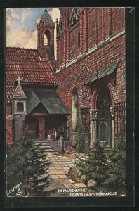 AK Marienburg / Malbork, Eingang zur St. Annenkapelle