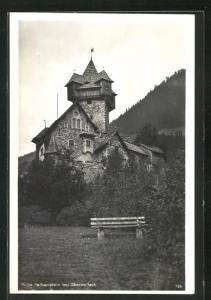 AK Obervellach, Ruine Falkenstein, Burg