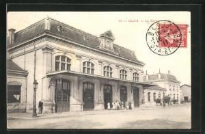 AK Blois, la Gare, Bahnhof