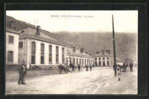 AK Modane, La Gare, Bahnhof