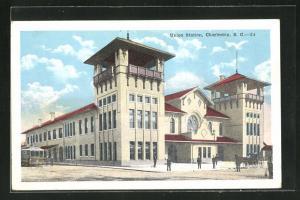 AK Charleston, SC, Union Station, Bahnhof