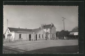 AK Domont, La Gare, Bahnhof