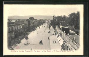 Relief-AK Mexico City, El Puente de San Francisco y Av. Juarez
