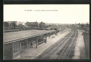 AK Juvist, La plus grande Gare du Monde, Bahnhof