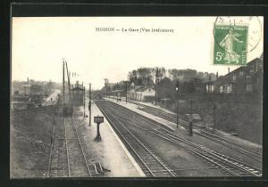 AK Mohon, La Gare, Bahnhof