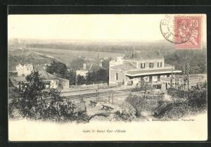 AK Saint-Cyr-L'Ecole, Gare, Bahnhof