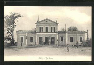 AK Mer, La Gare, Bahnhof