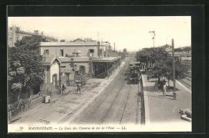 AK Mansourah, La Gare des Chemins de fer de l'Etat, Bahnhof