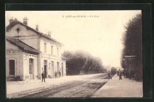 AK Lizy-sur-Ourcq, La Gare, Bahnhof