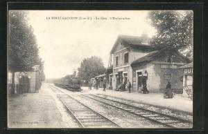 AK La Ferté Gaucher, La Gare, Bahnhof