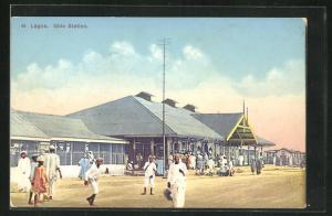 AK Lagos, Iddo Station, Bahnhof