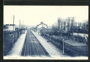 AK Trilport, La Gare, Bahnhof
