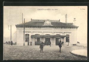 AK Choisy-Le-Roi, La Gare, Bahnhof