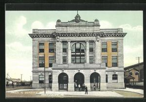 AK Harrisburg, PA, Railroad Station, Bahnhof