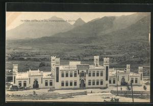 AK Tetuan, Estacion Del Ferrocarril A Ceuta, Bahnhof