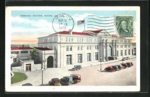 AK Macon, GA, Terminal Station, Bahnhof