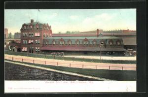 AK Baltimore, MD, Union Station, Bahnhof